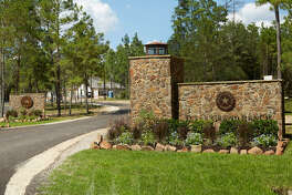 Texas Grand Ranch, a developing  community near New Waverly, Texas, is surrounded by thousands of forest acres.
