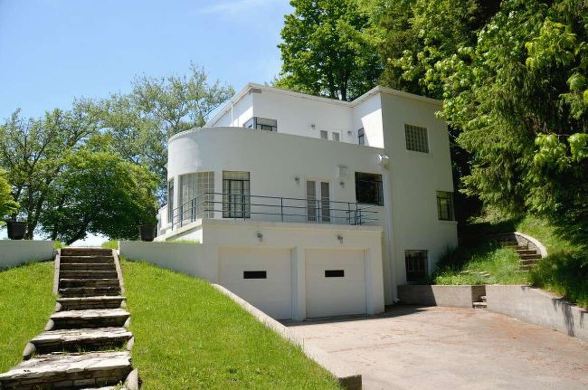 Erik and Farah Johnson's Art Deco-style house. (Courtesy photo/Susan Rastelli)
