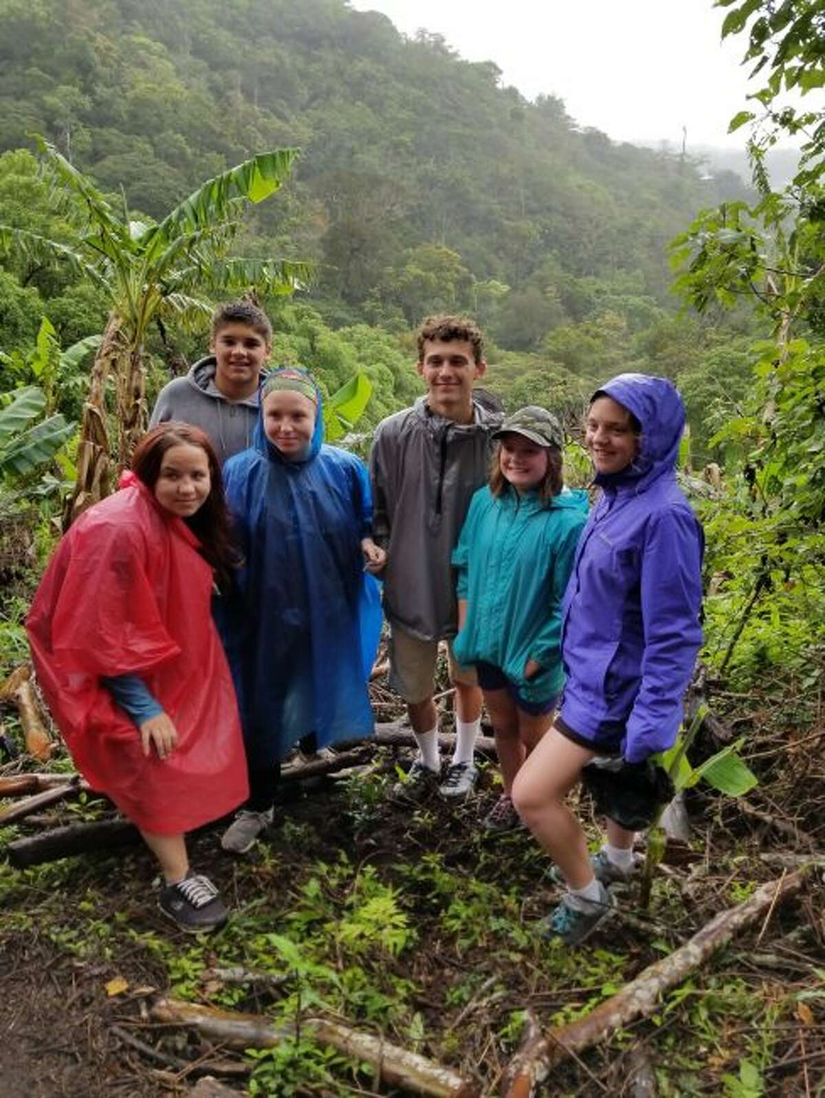 Visiting the Rain Forest in Costa Rica was a great educational opportunity for the students and they had the chance to plant a tree at that location.