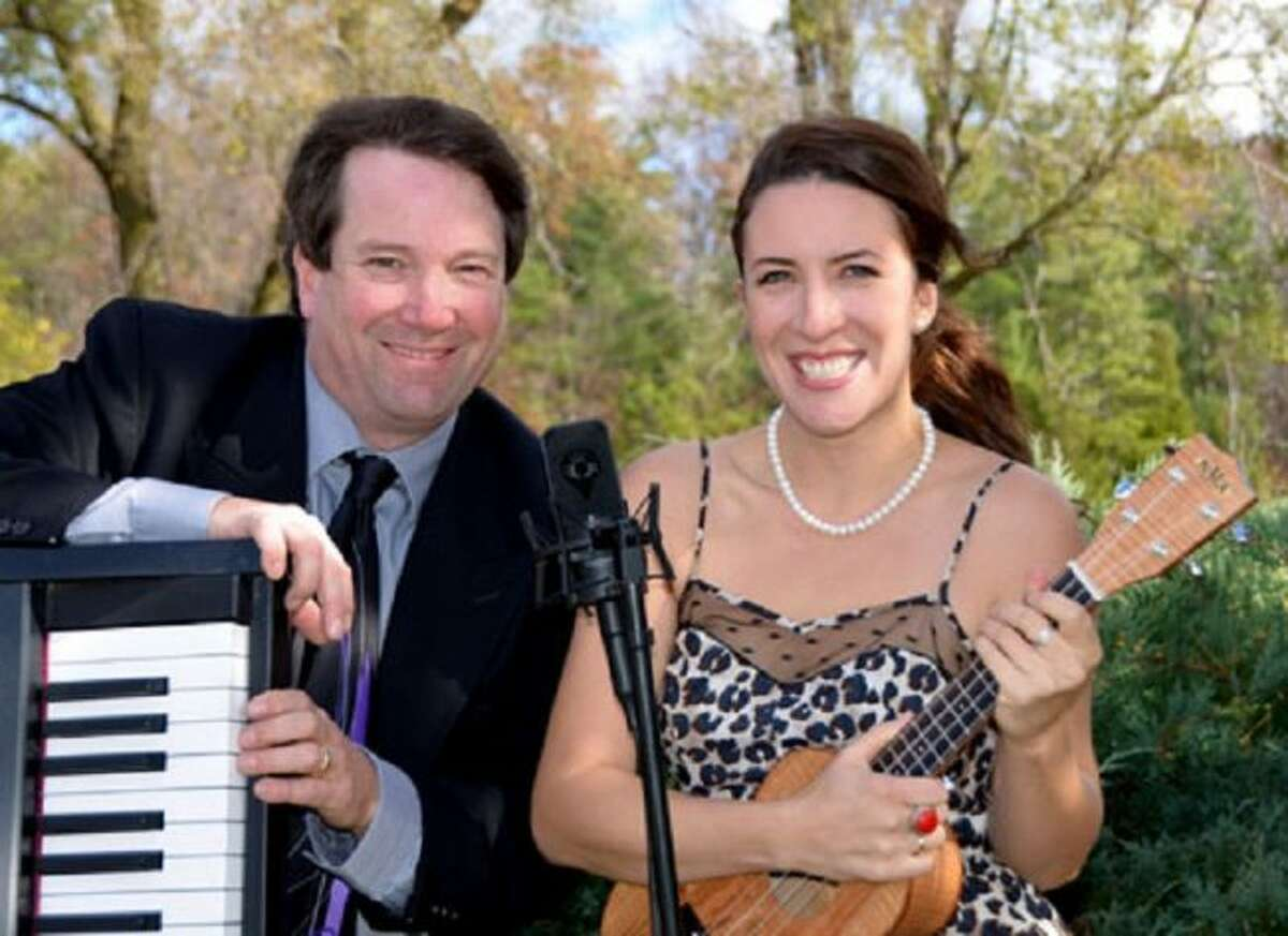 Monday's PLA Concert in the Park on July 15 brings Miriam Pico and David Chown. (Courtesy Photo)