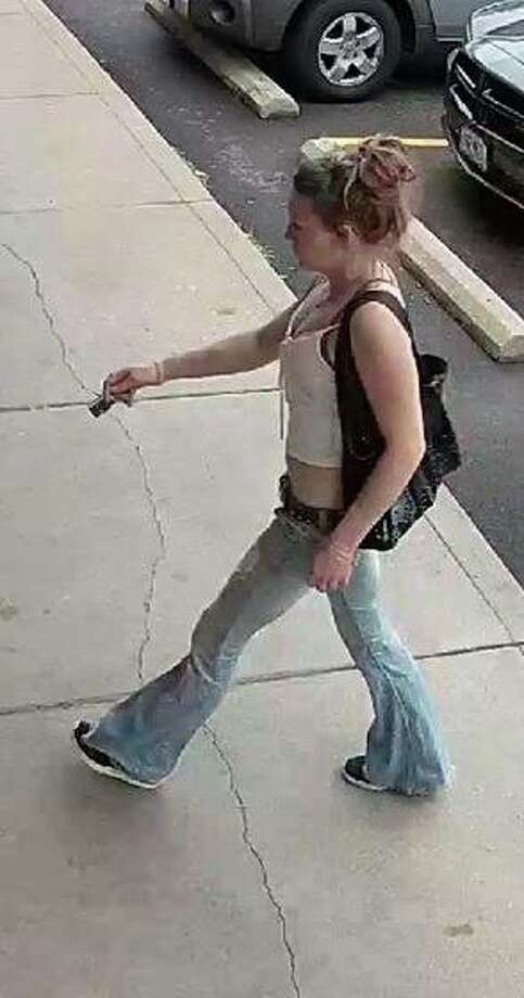 The Madison County Sheriff's Office is seeking information on the woman in this photo as they investigate a June case involving a vehicle stolen in rural Alhambra. Photo: Madison County Sheriff's Office