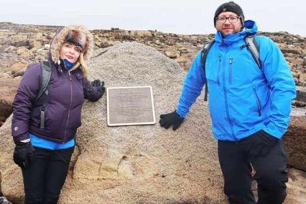 Rice University anthropologists Cymene Howe and Dominic Boyer joined nearly 100 others to say a final farewell to Okjökull, Iceland's first named glacier lost to climate change.