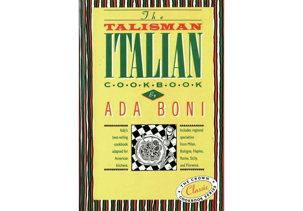 """""""The Talisman Italian Cookbook"""" by Ada Boni"""