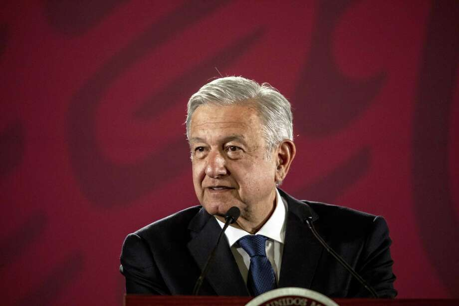 Andres Manuel Lopez Obrador, Mexico's president, has allowed natural gas imports to grow even as he moves to reduce dependence on foreign oils and fuels. Photo: Alejandro Cegarra / Bloomberg / © 2019 Bloomberg Finance LP