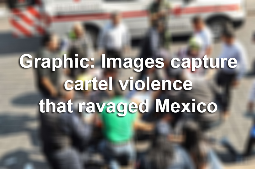 Scenes from cartel violence and the drug war in Mexico this summer