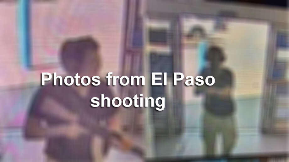 Keep clicking to see scenes from the El Paso shooting that left 22 people dead. Photo: COURTESY OF KTSM 9, Contributor / AFP/Getty Images