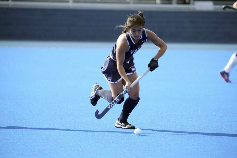 Yale field hockey player Katie Pieterse of Ridgefield. Photo: Yale Athletics / Contributed Photo