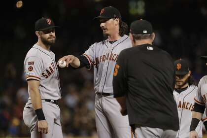 Giants' Samardzija celebrates 10 years in majors with call for service-time reforms