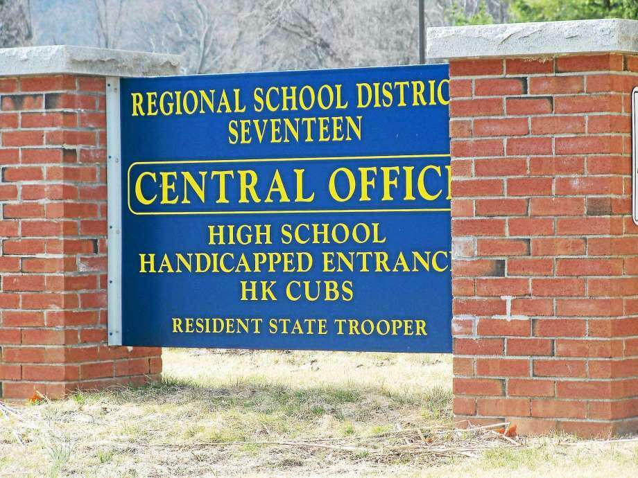 Regional School District 17 Haddam-Killingworth Photo: File Photo