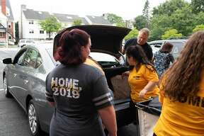 Were you Seen during move-in day at The College of Saint Rose in Albany on Aug. 21, 2019?
