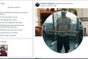Screenshots from social media sites linked to Brandon Wagshol.