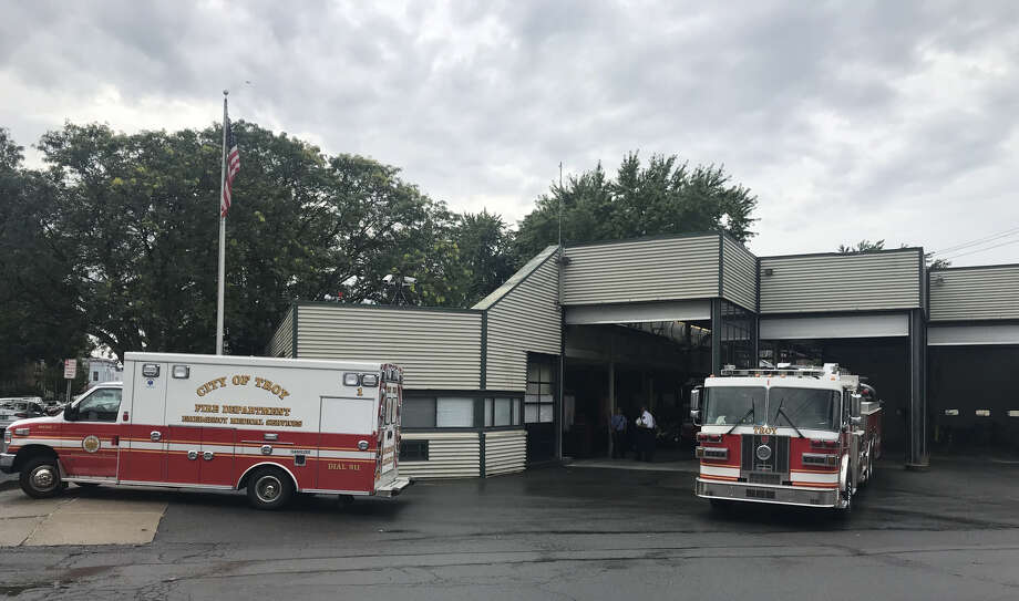 Troy's Lansingburgh Fire Station at 115th Street and Fifth Avenue is 47-years-old and is being eyed to be replaced by the city. Photo: Kenneth C. Crowe II