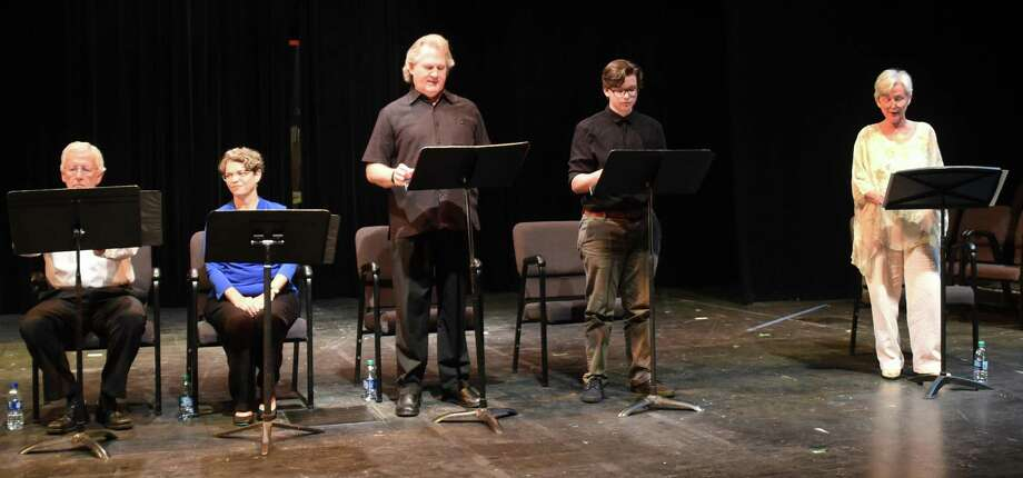 Beaumont Community Players perform 'The Ritual,' one of four plays submitted from writers across the country during the group's inaugural Southeast Texas Festival of New Plays. Photo: Provided By Pete Churton / Photo Provided By Pete Churton