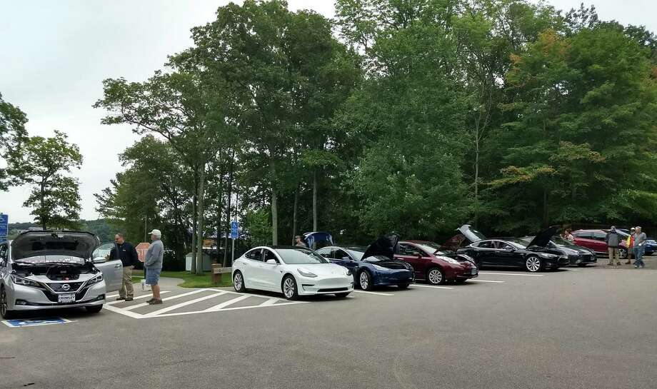 """The East Hampton and Portland Clean Energy Task Forces are organizing the Third Annual """"Electric Car Show"""" 12-4 p.m., Sept. 7 in front of The Dublin Restaurant at 42 East Main St. The rain date is Sept. 8. The show will showcase electric, hybrid, and alternative fuel cars from various dealerships and will include private car owners. The Task Forces are also inviting any town residents who own any electric, hybrid or alternative fuel vehicle to show off their clean energy machine too. For information, ehcetf@gmail.com or call us 860-365-1296. Town residents are also invited to show off other vehicles too, not just cars - bikes, scooters or anything that moves are all welcome. Photo: Contributed Photo"""