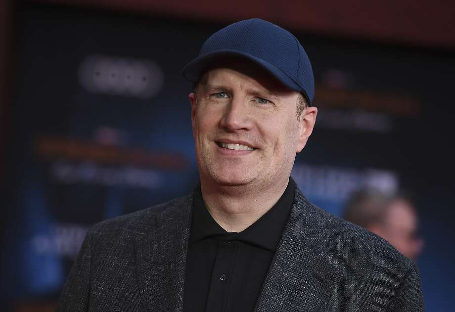 Kevin Feige will no longer oversee Spider-Man films after a split between Disney, which owns Marvel, and Sony, which has the rights to the character of Spider-Man. Photo: Jordan Strauss / Invision / AP