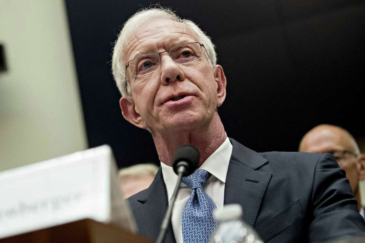 Capt. Sully Sullenberger, retired US Airways pilot, speaks during a House Transportation and Infrastructure Subcommittee on Aviation hearing in Washington, D.C., U.S., on Wednesday, June 19, 2019. Pilots and flight attendants, who have been critical of Boeing's handling of the beleaguered 737 Max, aired their concerns at the hearing with lawmakers probing actions by the company and its regulators in the run-up to two fatal crashes. Photographer: Andrew Harrer/Bloomberg