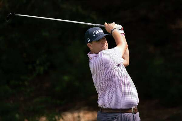Mike Ballo Jr. shot a 67 in the second round of the 104th Met Open at Piping Rock Club in Locust Valley, N.Y. on Wednesday, August 21, 2019.