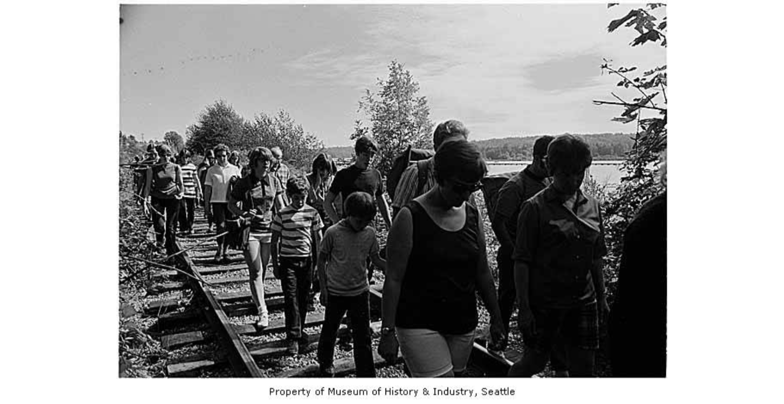 In history: Burke-Gilman, once a rail route for loggers, is dedicated as a trail 41 years ago