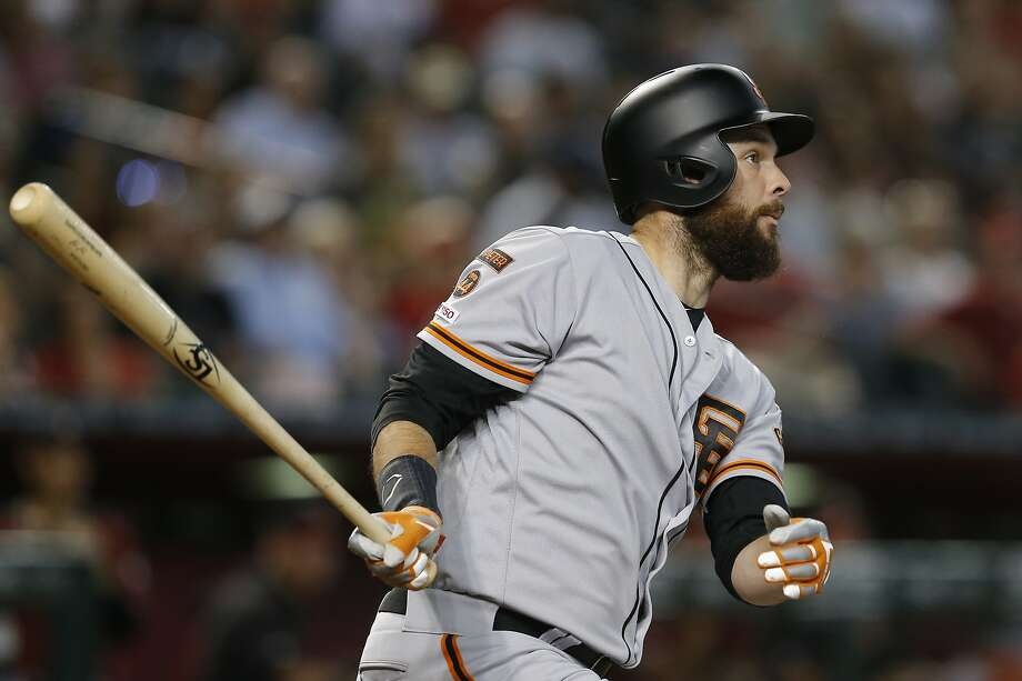Giants' Brandon Belt says he might have pressed during leadoff stint