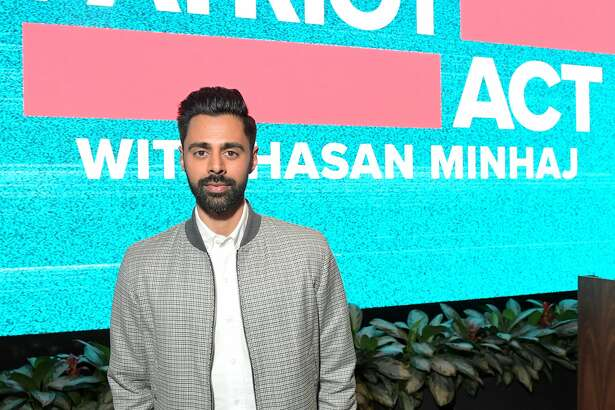"LOS ANGELES, CALIFORNIA - APRIL 06: Hasan Minhaj attends ""Patriot Act w/ Hasan Minhaj"" ATAS official screening & reception at Netflix Home Theater on April 06, 2019 in Los Angeles, California. (Photo by Charley Gallay/Getty Images for Netflix)"