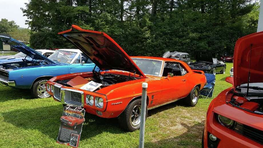 A total of 148 cars were on display at last year's car show at the drive-in. Photo: Melissa Roy / Contributed Photo /