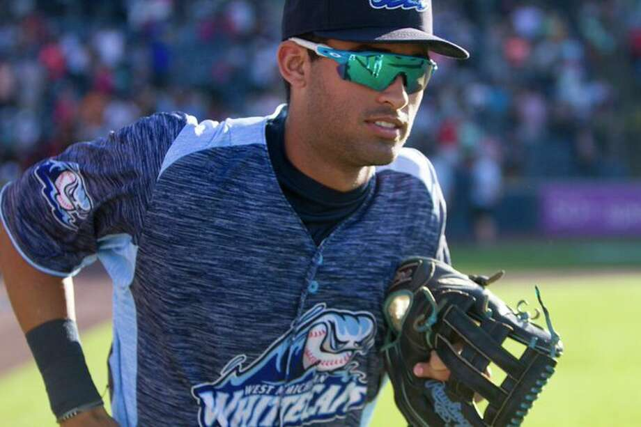 Riley Greene is this year's 5th overall pick and the No. 3 prospect in the Detroit Tigers farm system, according to MLB Pipeline. (Photo provided/West Michigan Whitecaps, Twitter) Photo: (Photo Provided)