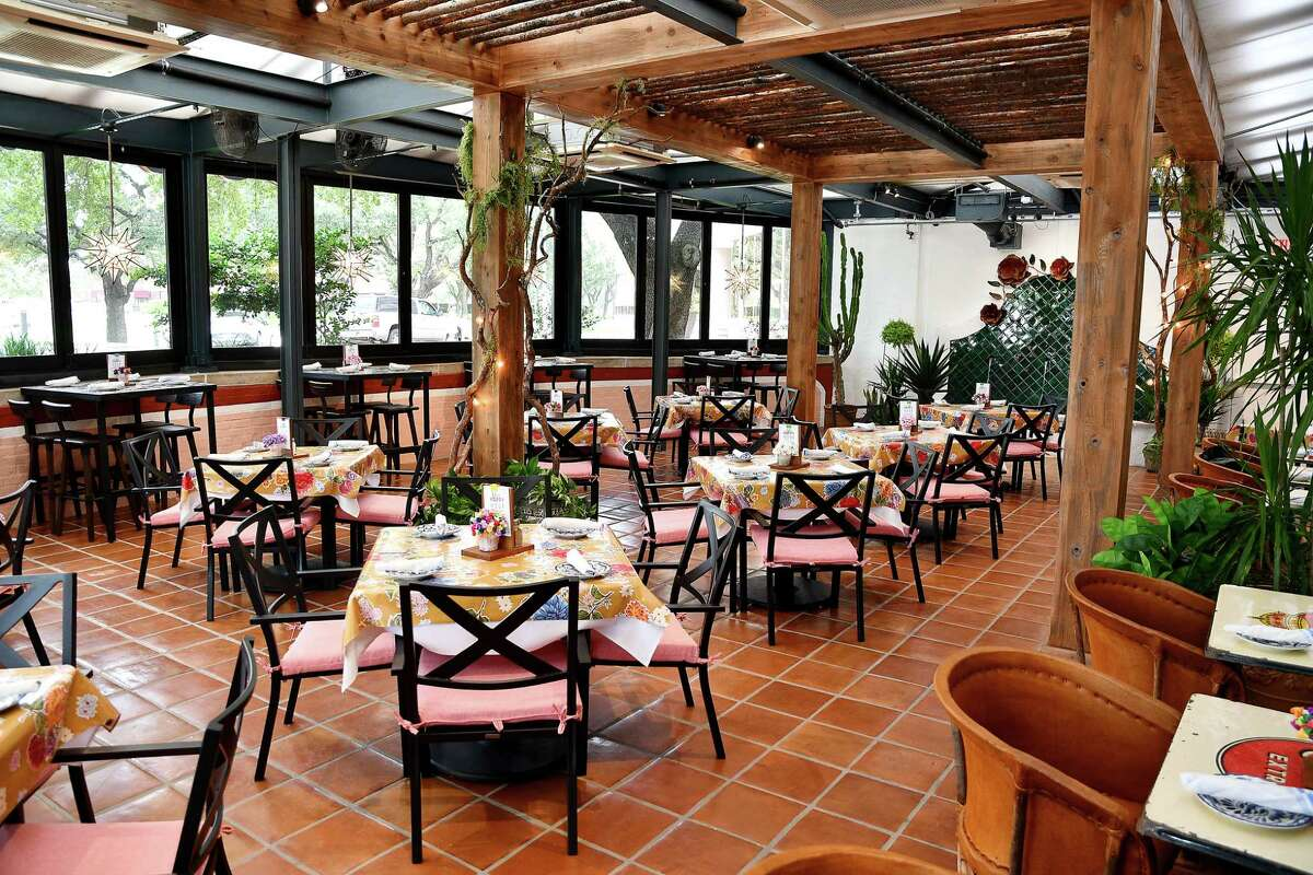 The patio room at the new Los Tios Mexican Restaurant on San Felipe.