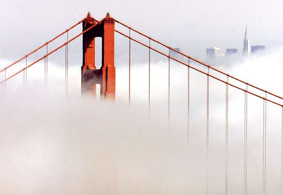 'Nature's air conditioning is coming back on': The fog returns to the Golden Gate