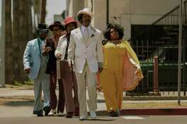 Eddie Murphy leads the cast in the Rudy Ray Moore biography, 'Dolemite Is My Name'