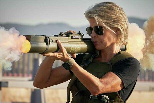 LInda Hamilton in 'Terminator: Dark Fate'