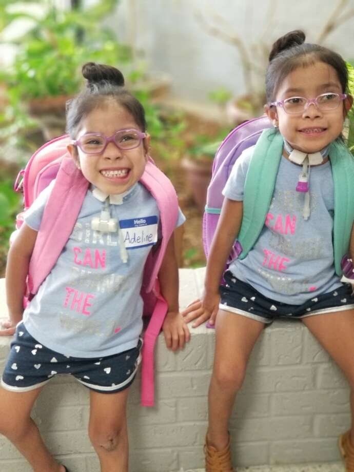The two 5-year-old girls, who made national headlines when a Texas Children's Hospital surgical team separated the conjoined twins in 2015, recently started pre-kindergarten in Littlefield, Texas. >>> See how the conjoined twins were separated at Texas Children's Hospital Photo: Elysse Mata