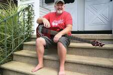 Jeffrey Fox, of the Black Rock section of Bridgeport, and his band the Lake Avenue Project will play their fourth consecutive Porchfest in the neighborhood on Saturday, August 24, 2019.