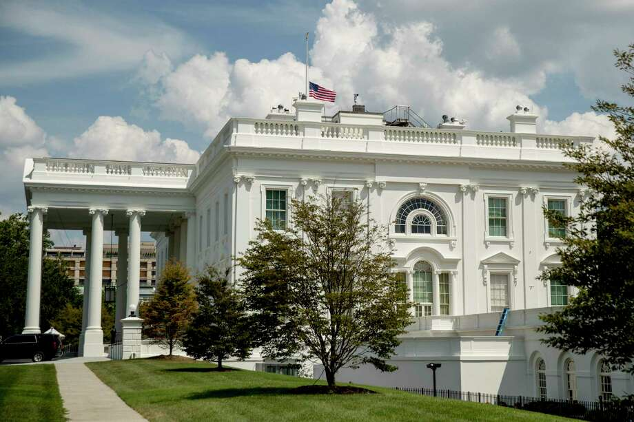 File photo of the White House in Washington, Sunday, Aug. 4, 2019 (AP Photo/Andrew Harnik) Photo: Andrew Harnik / Associated Press / Copyright 2019 The Associated Press. All rights reserved