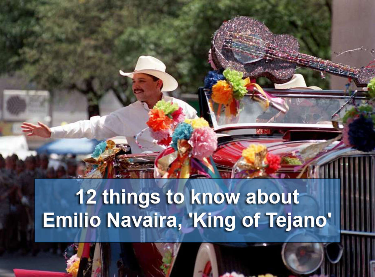 Tejano music legend Emilio Navaira died in May 2016. Click through the slideshow for 10 things to know about the superstar San Antonio native.