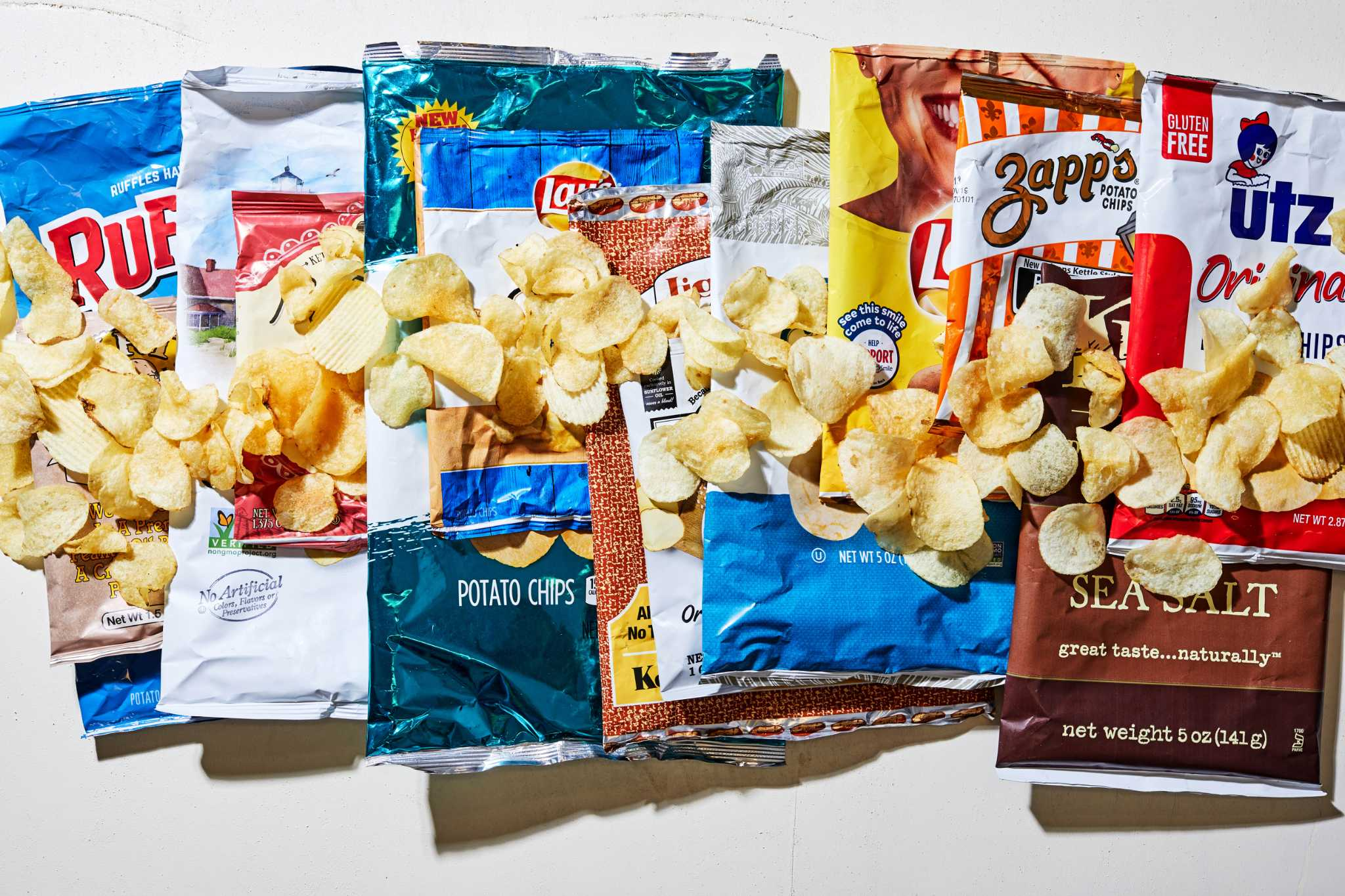 We tried 13 popular potato chip brands, and our top and bottom picks might just surprise you