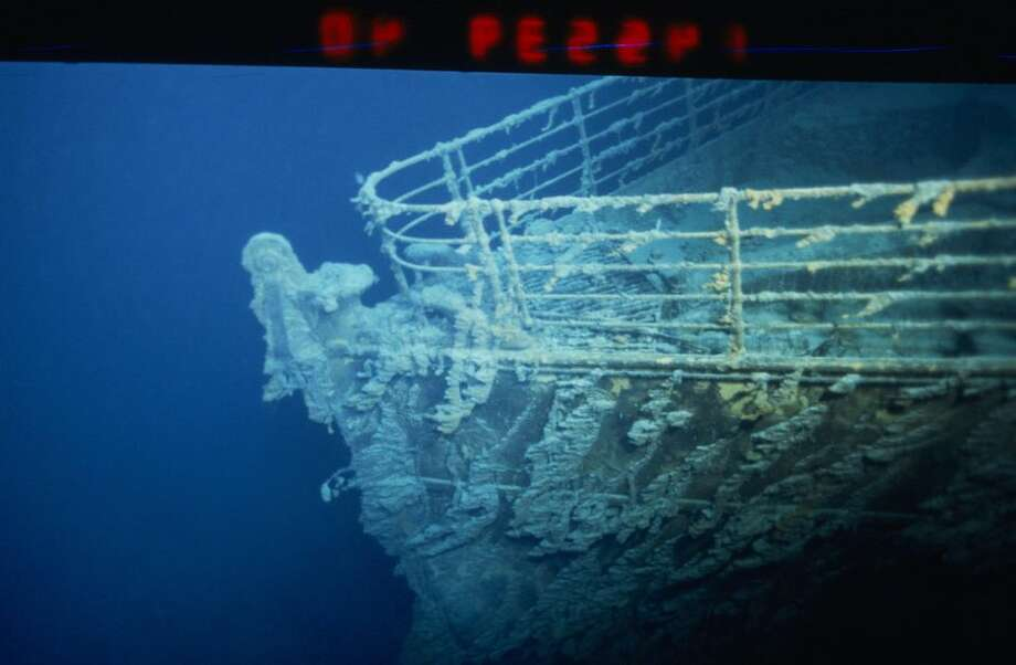 Salt water and bacteria are eating away at the Titanic. Photo: Xavier Desmier/Getty Images