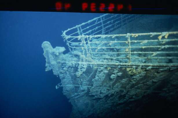 Salt water and bacteria are eating away at the Titanic.