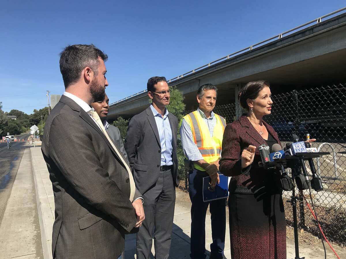 Oakland Mayor Libby Schaaf and the city's transportation department launched Thursday Oakland's $300 million repaving plan.