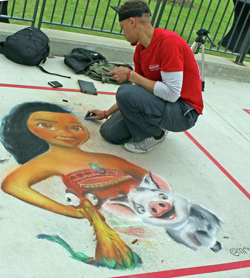 "Calling all artists: Sugar Land Parks and Recreation Department is hosting a chalk competition as part of the upcoming ""The Art of Wining and Dining"" event scheduled Sept. 7. The competition is free and open to all ages. The deadline to enter is Aug. 28. Picture courtesy: Sugar Land Parks and Recreation Department"