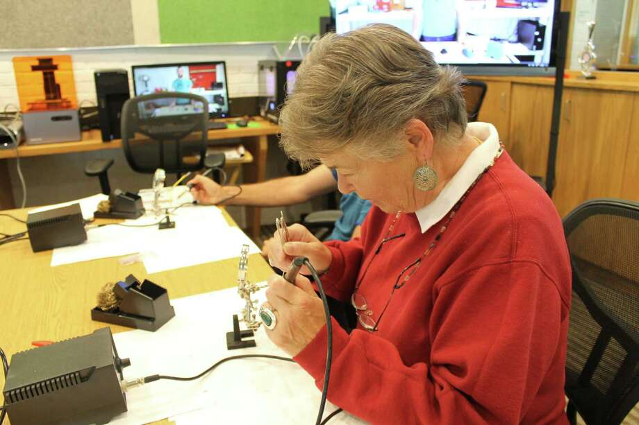 Wilton Library's Innovation Station has a number of classes scheduled for the coming week. Photo: Contributed Photo / Wilton Library / Wilton Bulletin Contributed