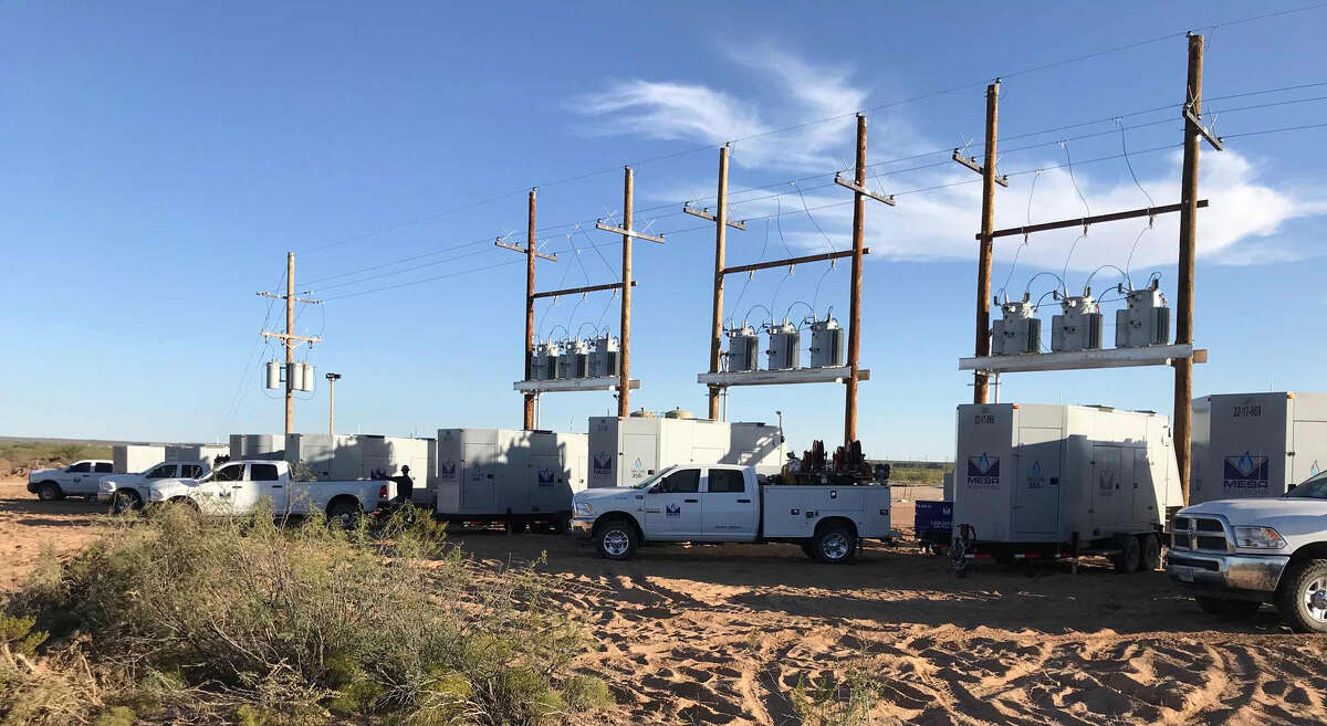 For five years, Mesa Natural Gas Solutions has been manufacturing generators that can run on the natural gas associated with oil production. Half the company's business is in the Permian Basin.