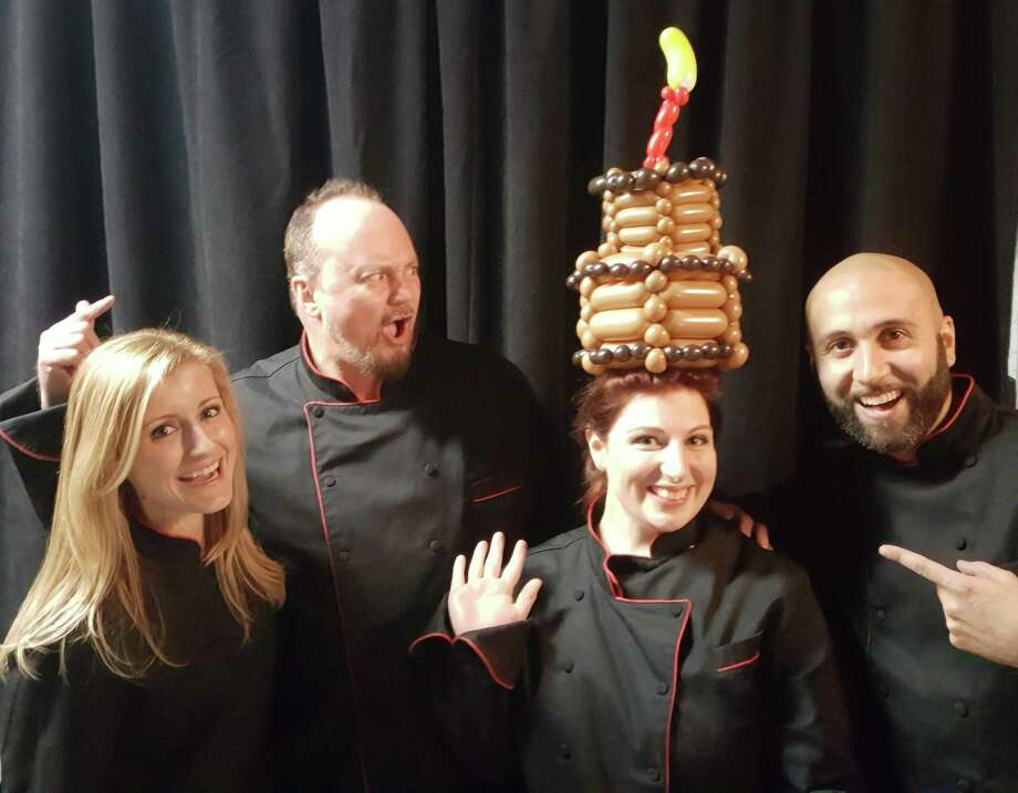 Amanda Cano, second from right, was the winner of the Food Network show Bakers vs. Fakers in 2018. With her winnings, she opened her own bakery BabyCakes at 12621 Old 105 West, Ste 107, Conroe. For BrewMasters, she'll pair with Justin and Marin Slanina with B-52 brewery for a seminar on pairing craft beers and sweets on Sept. 1 at 5:15 p.m.