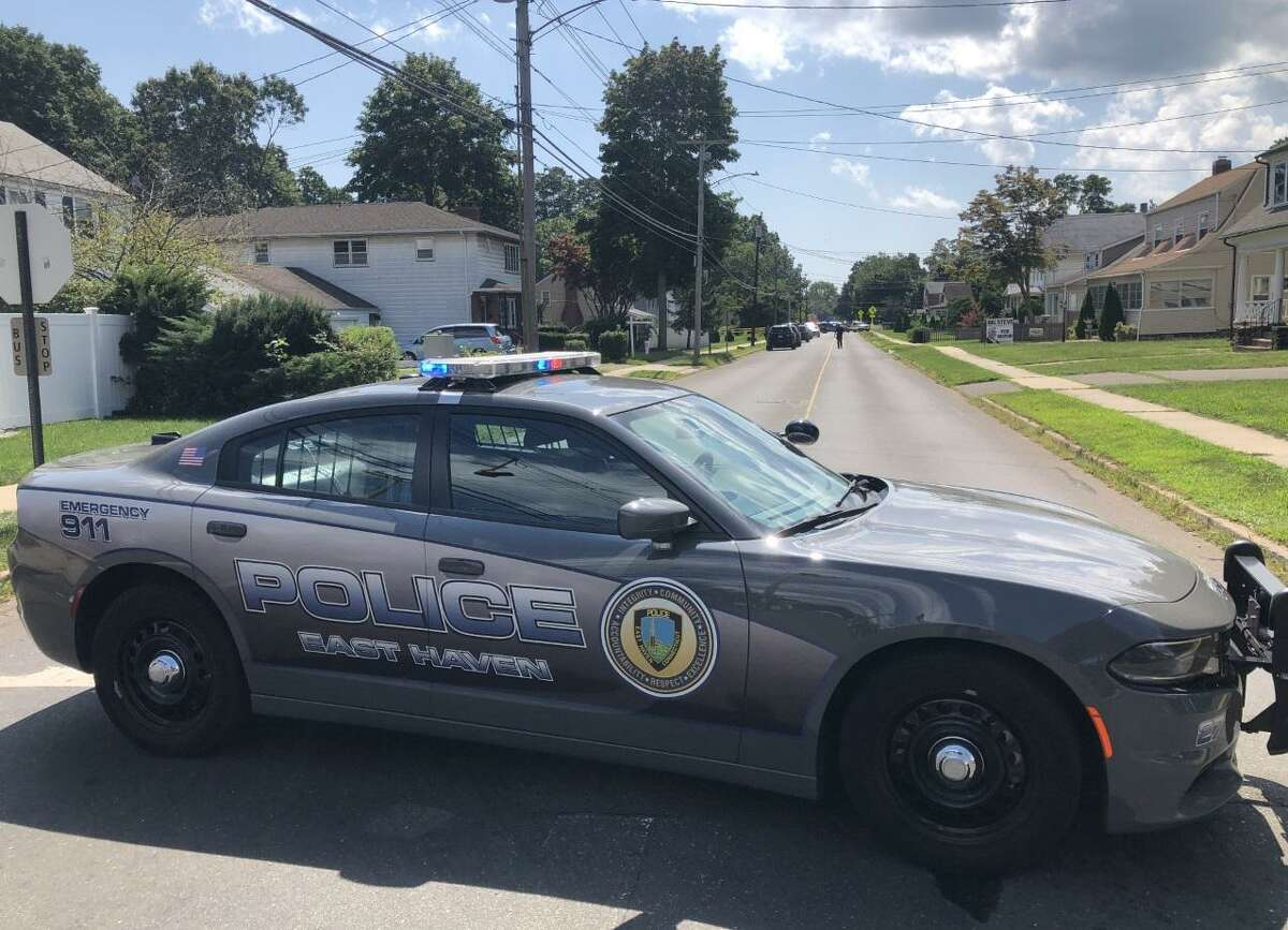 An East Haven police vehicle.