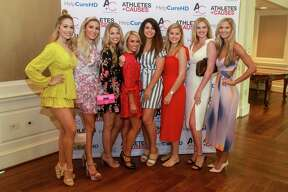 EMBARGOED FOR SOCIETY REPORTER UNTIL AUGUST 25 Astro wives at the Huntington's Disease luncheon at River Oaks Country Club on August 22, 2019.