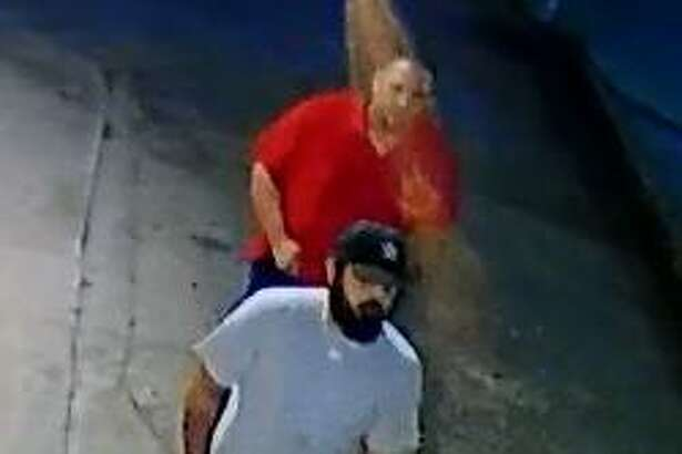 San Antonio police and crime stoppers are offering an award for the identification of suspects they believe robbed a person at gunpoint on the city's North Side.