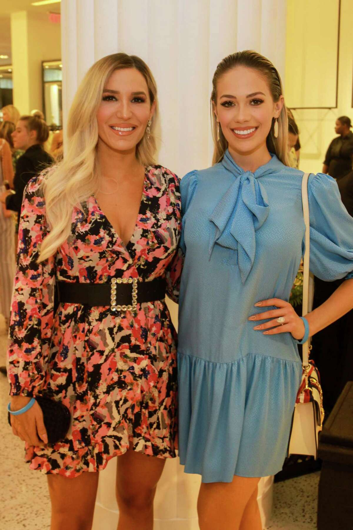 Kara McCullers, left, and Danielle Rodriguez at the Dress for Success' young professionals group, Women of Wardrobe annual Sizzling Summer Soiree at Tootsies on August 21.