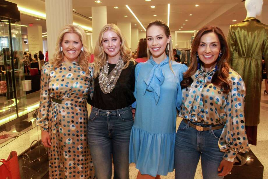 Chairs Amanda Boffone, from left, Courtney Campo, Danielle Rodriguez and Julie Longoria Chen at the Dress for Success' young professionals group, Women of Wardrobe, annual Sizzling Summer Soiree at Tootsies on August 21. Photo: Gary Fountain, Contributor / Copyright 2019 Gary Fountain