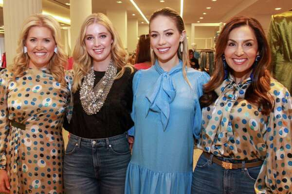 EMBARGOED FOR SOCIETY REPORTER UNTIL AUGUST 25 Chairs Amanda Boffone, from left, Courtney Campo, Danielle Rodriguez and Julie Longoria Chen at the Dress for Success' young professionals group, Women of Wardrobe, annual Sizzling Summer Soiree at Tootsies on August 21.