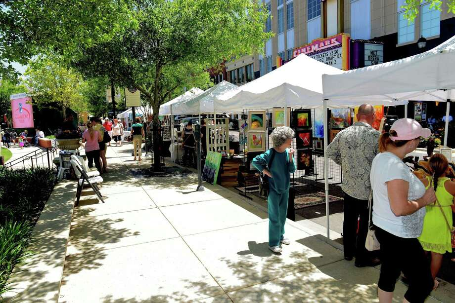 The Market Street Fall Fine Arts Show begins at 10 a.m. and goes until 7 p.m. Sept. 14. About 40 different artists are to be set up in booths around Market Street's Central Park.
