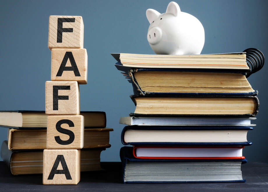 Securing financial aid involves some steps, including filling out a FAFSA form. Photo: Shutterstock